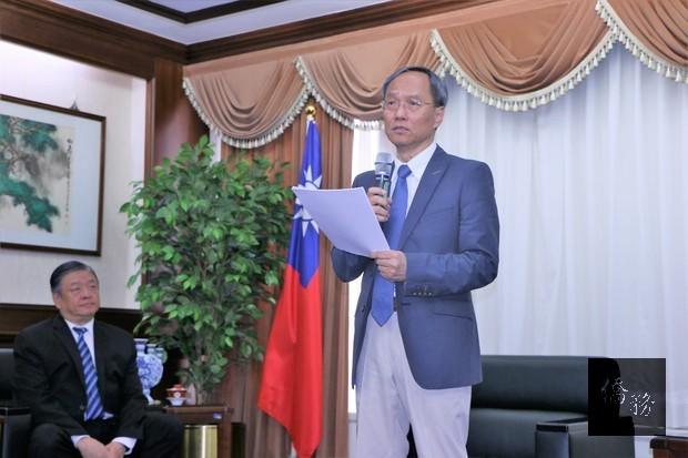 吳新興:肯定應天華畢生支持中華民國的愛國精神