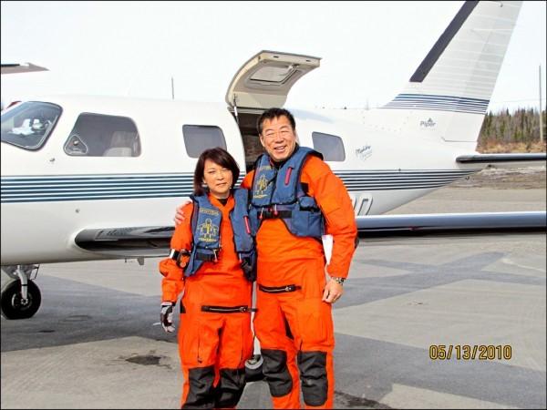 曾駕機82天環遊世界 飛行家應天華墜機亡1
